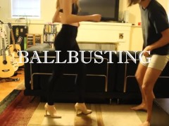 BALLBUSTING! Eric & Chaiyles now on Clips4Sale! CBT  Trampling  Femdom