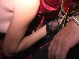 Make Masked Swinger Milf Soccer Moms Suck Dick And Cum In Orgy-Part 1