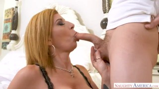 MILF Sara Jay punishes her son's friend with her pussy! Indian indian