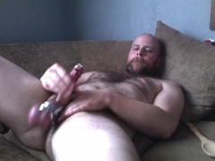 Inargural load with my 0g PA Prince Albert, cbt ball stretching otter batin