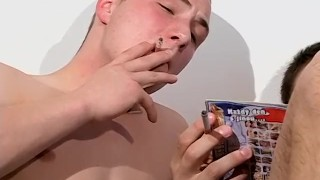 Sivok smoking jarmil and enjoy anal and sex raw cigars bts anal