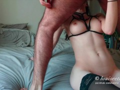 Louiseetmartin  He fucks his friend in hot lingerie and cums on her anal | Porn-Update.com