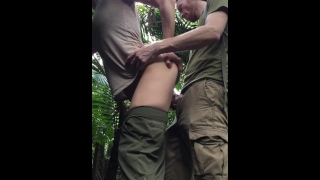 Risky Public Fuck In Tropical Rain Forest