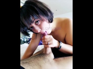 cum hungry milf wants cock down her throat