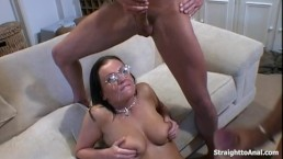 Anal Fucking Pleasure With Sexy Brunette