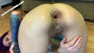 At badlittlegrrlcom vid closeup gaping fisting full and asshole gape