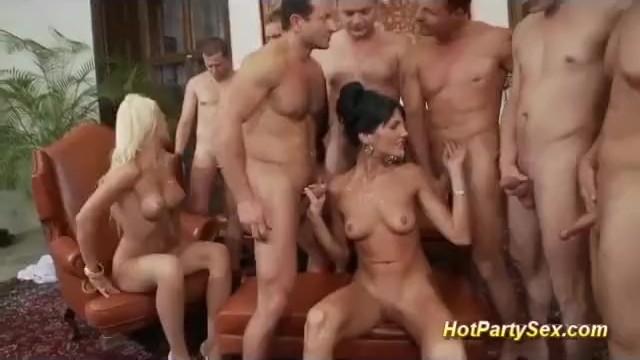 Cfmn tgp - Extreme double penetration sex party
