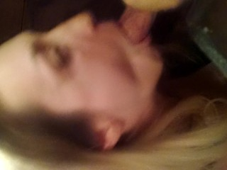 Homemade Hot Blonde Sucking Dick And Fucked In The Bathroom On The Phone Camera