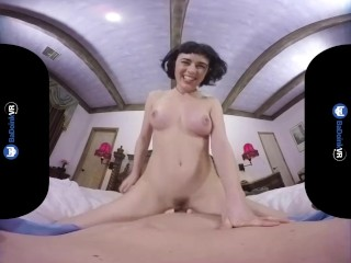 BaDoinkVR.com Call Girl Olive Glass Rides Your Cock In VR