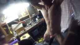 cumming so fucking hard with flesh jack