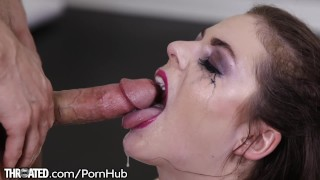 Throated Kendra Lynn Deepthroats That Cock HARD!!