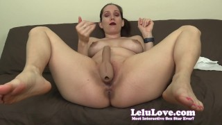 Lelu Love StrapOn Pegging JOI With 2 Orgasm CEI