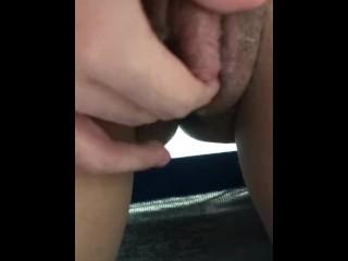 Rubbing Ftm Dick Pussy