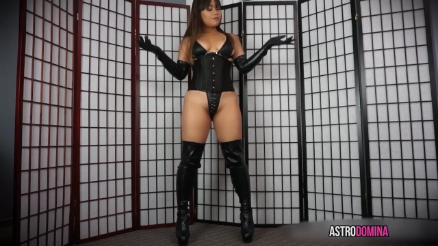 Asian dominatrix tube Asian mistress jerk off instruction joi - asian dominatrix