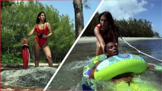 BANGBROS Latina Lifeguard Valerie Kay Rescues A Big Black Cock