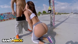 Franceska bangbros nacho with jaimes european milf public anal sex latin bang