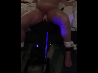 Her Master's Toy (fucking machine and whipping)