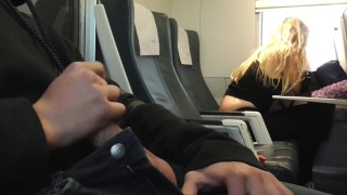 Real train mouht the cumshot in unknown spanish teen