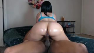 Fucking my neighbors slut wife w/ beautiful ass!