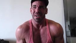 Billy Santoro bareback breeds Colt Rivers