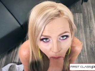 FirstClassPOV - Teen Astrid Star is punished by a big dick, big boobs