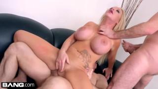 BANG Casting - Rachele Richey gets a Gangbang Face fucking