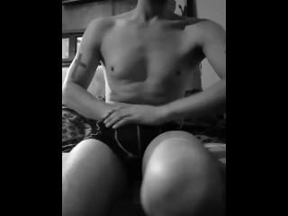 Masturbador: Placer y gemidos
