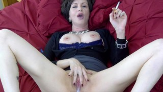 Lick it Up While I Smoke cuck hotwife creampie cleanup cigarette fetish