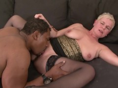 Lady in black stockings fuck threesome bad girl in stockings