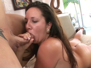 Brunette With Little Tits And Big Ass Gets Fuck
