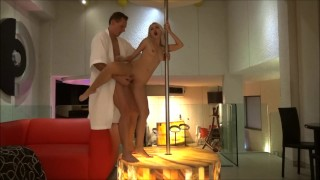 Fucked a whore in Strip Club!! Cummed in mouth