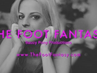 Maia Evon's Ballerina Pantyhose FootJob Preview