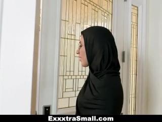 ExxxtraSmall - Petite Teen Fucked In Hijab