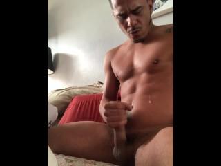 Cesar Xes cumshot