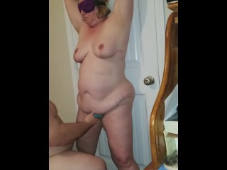 Tied up hot wife