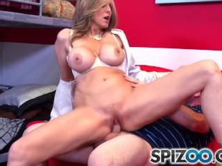 Spizoo MILF Julia Ann suck and fuck a big dick big booty big boobs