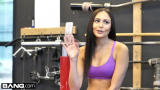 Preview 5 of BANG Confessions Ariana Marie Fucks a random guy at the gym