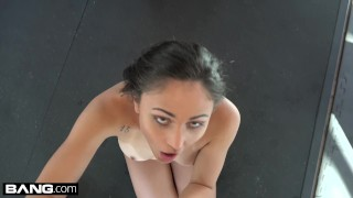 BANG Confessions Ariana Marie Fucks a random guy at the gym Blonde shower