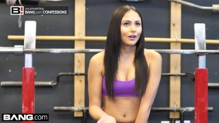 BANG Confessions Ariana Marie Fucks a random guy at the gym