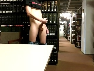 Huge Load in a Public Library