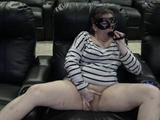 Got caught masturbating, master step in and fuck me hard using my dildo
