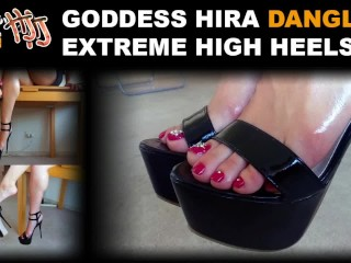 HandJoy * Goddess Hira dangling Extreme High Heels