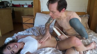 And with orgasms creampie couple sex rough passionate pussy petite