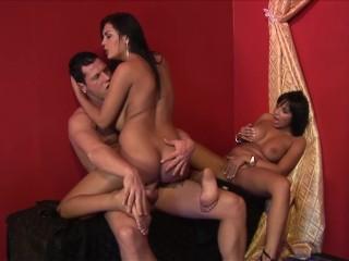 Teen Puffy Sex Fucking, Big Tit Brunette MILFs JASMINe BLACK & ROMANA RYDEr Get anal Pounding Big as