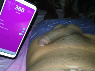 Remote Controlled Butt Plug Inside My Asshole In The Dark
