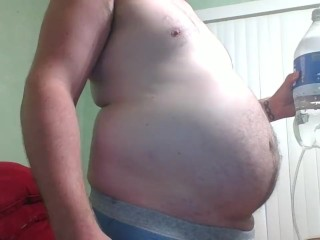 Belly Inflation with Carbonation from Soda