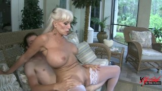 Anal Fucking my Mother in law ...balls deep anal creampie Blowjob homemade