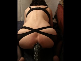 Transsexual shows himself and ride on the BBC