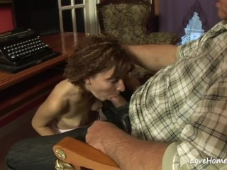 Sexy brunette loves to suck before eating ass