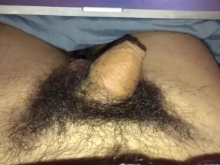 Long jerk off flaccid cock try to cum soft